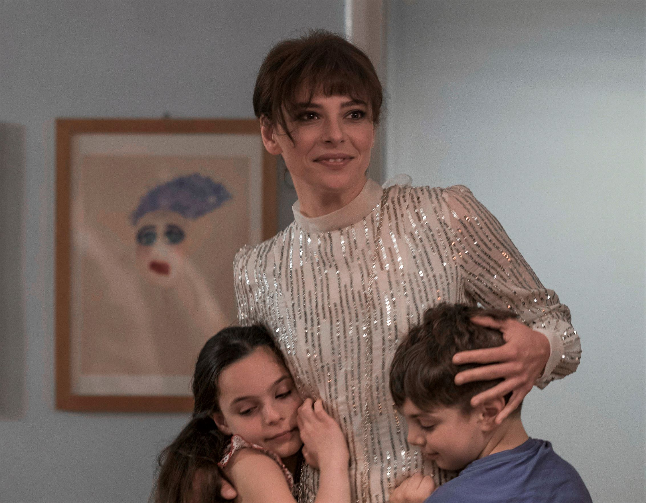 Jasmine Trinca, Sara Ciocca and Edoardo Brandi in the Italian film The Goddess of Fortune.